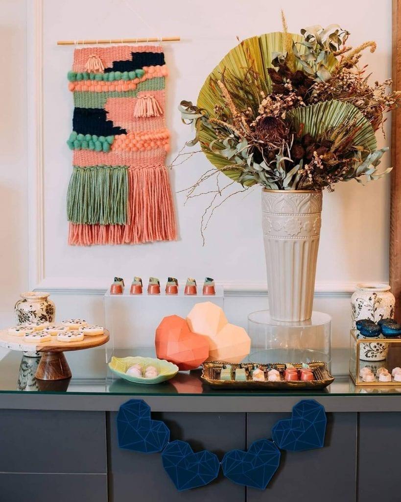 tapisserie moderne dans la décoration intérieure