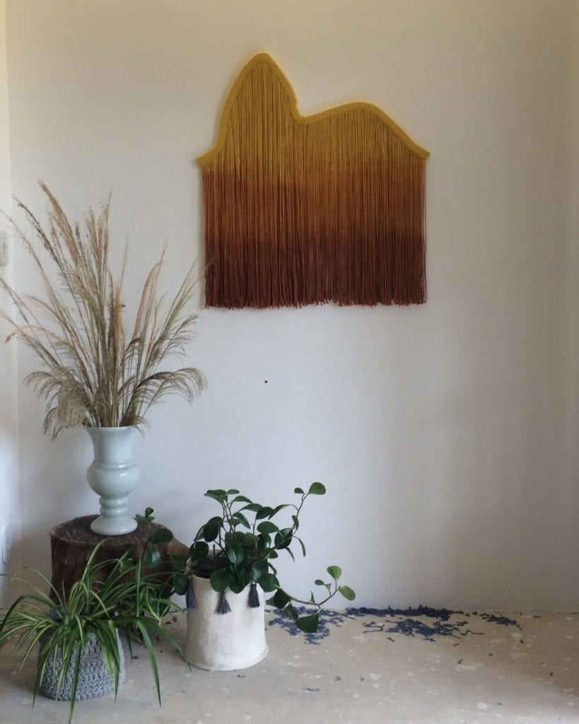 tapisserie moderne en décoration