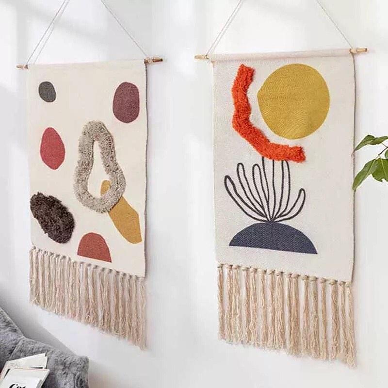 ensemble de tapisseries modernes