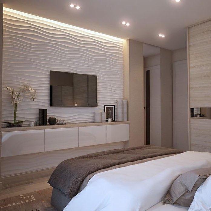 étagère blanche étroite dans la chambre double