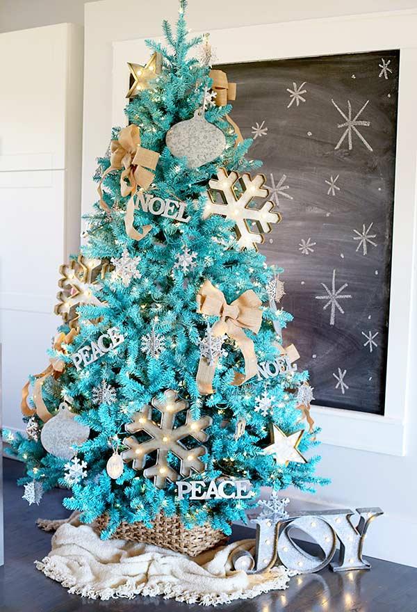 Gardez l'harmonie pour décorer votre sapin de Noël