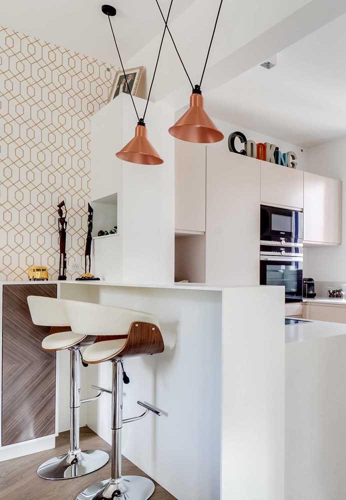 Dans les petites cuisines, le mieux est de faire une décoration plus propre