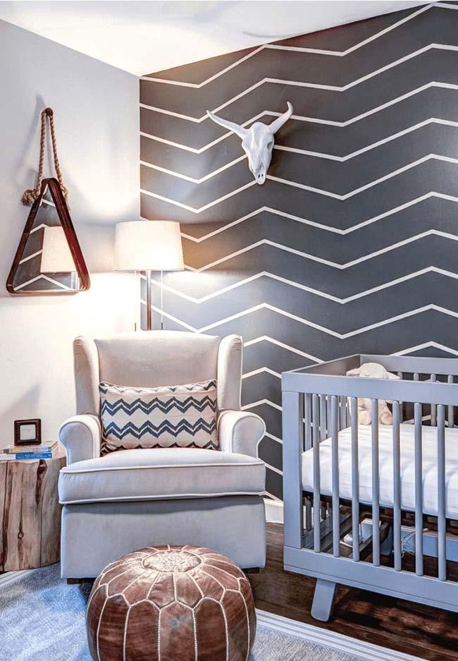 Dans la chambre de bébé, le ruban électrique révèle également sa polyvalence