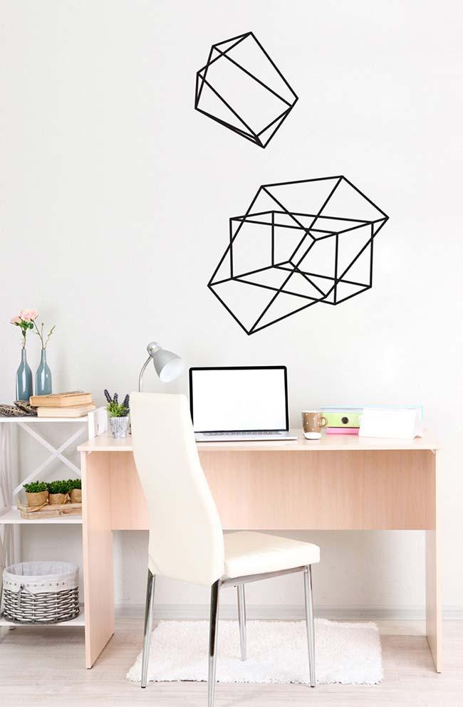 Cubes avec ruban électrique