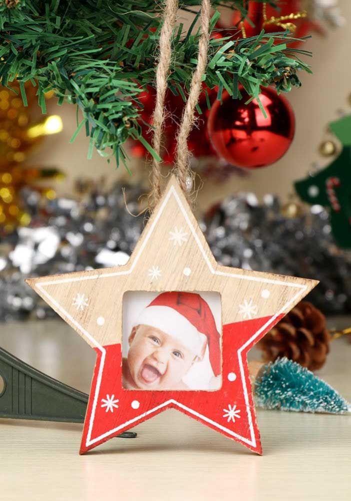 Étoile de Noël ou cadre photo?  Rassemblez les deux propositions en une