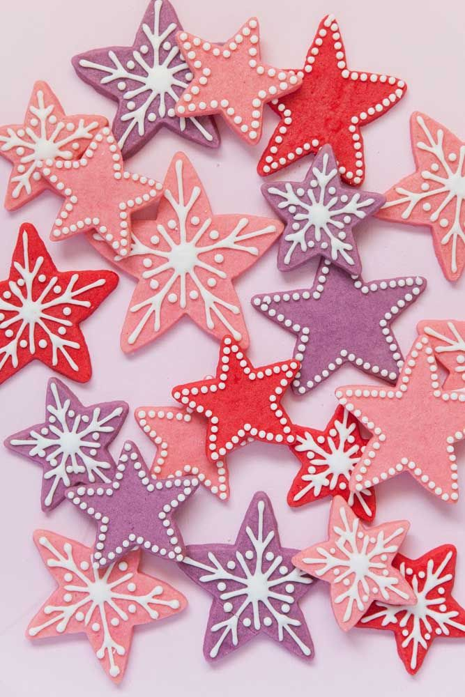 Neige et étoile de Noël: regardez le résultat de cette union