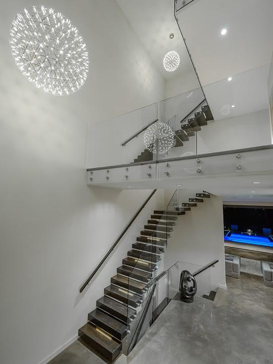 Escalier en bois minimaliste