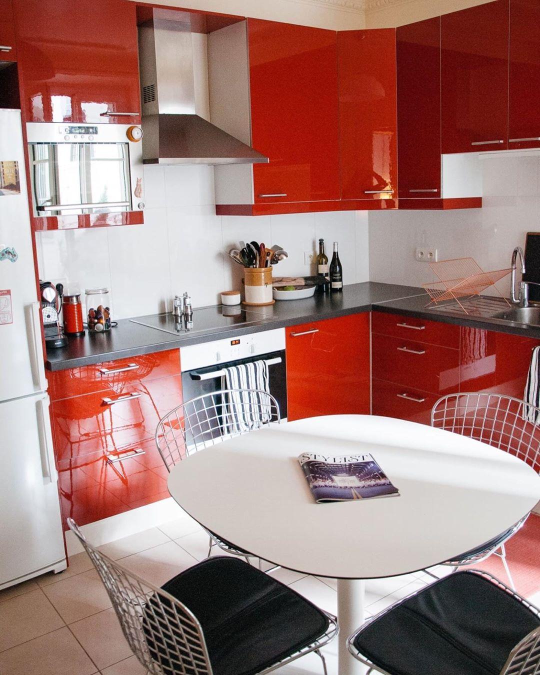 petite cuisine rouge[[