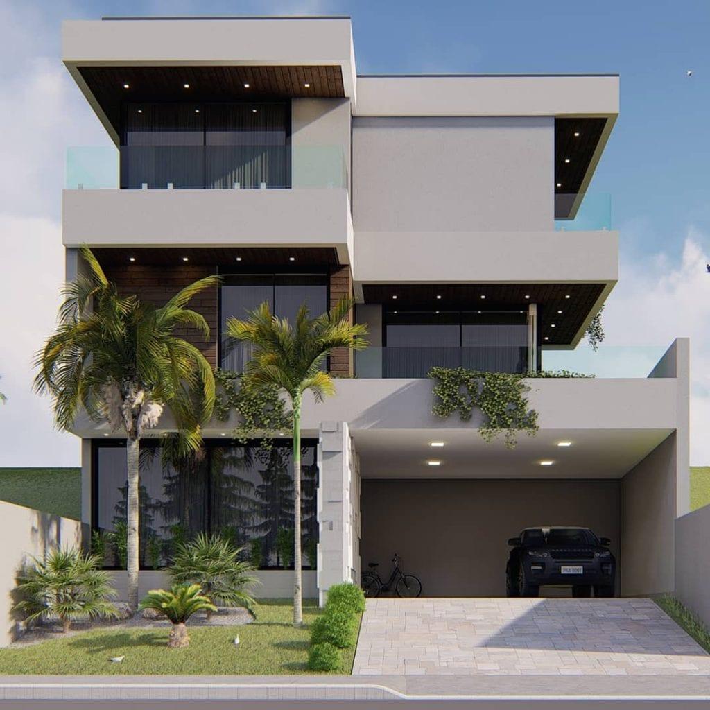 maison-avec-balcon-maison de ville
