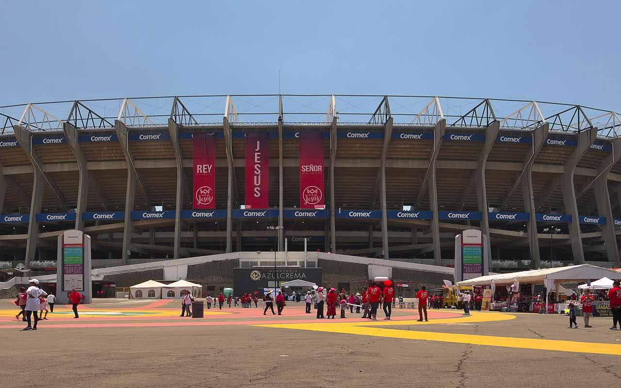 08º - Estadio Azteca - Mexico (Mexique)