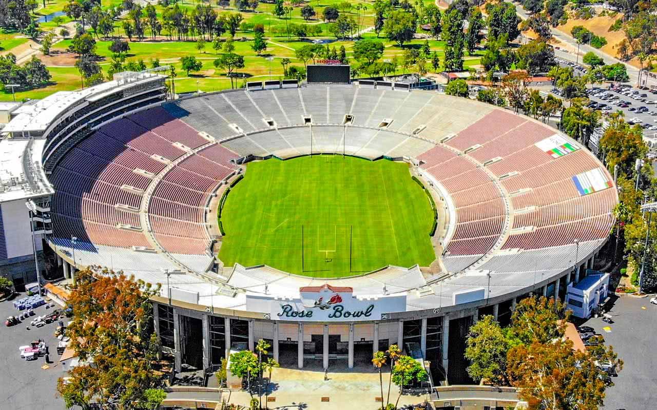 06ème - Rose Bowl Stadium - Pasadena (USA)