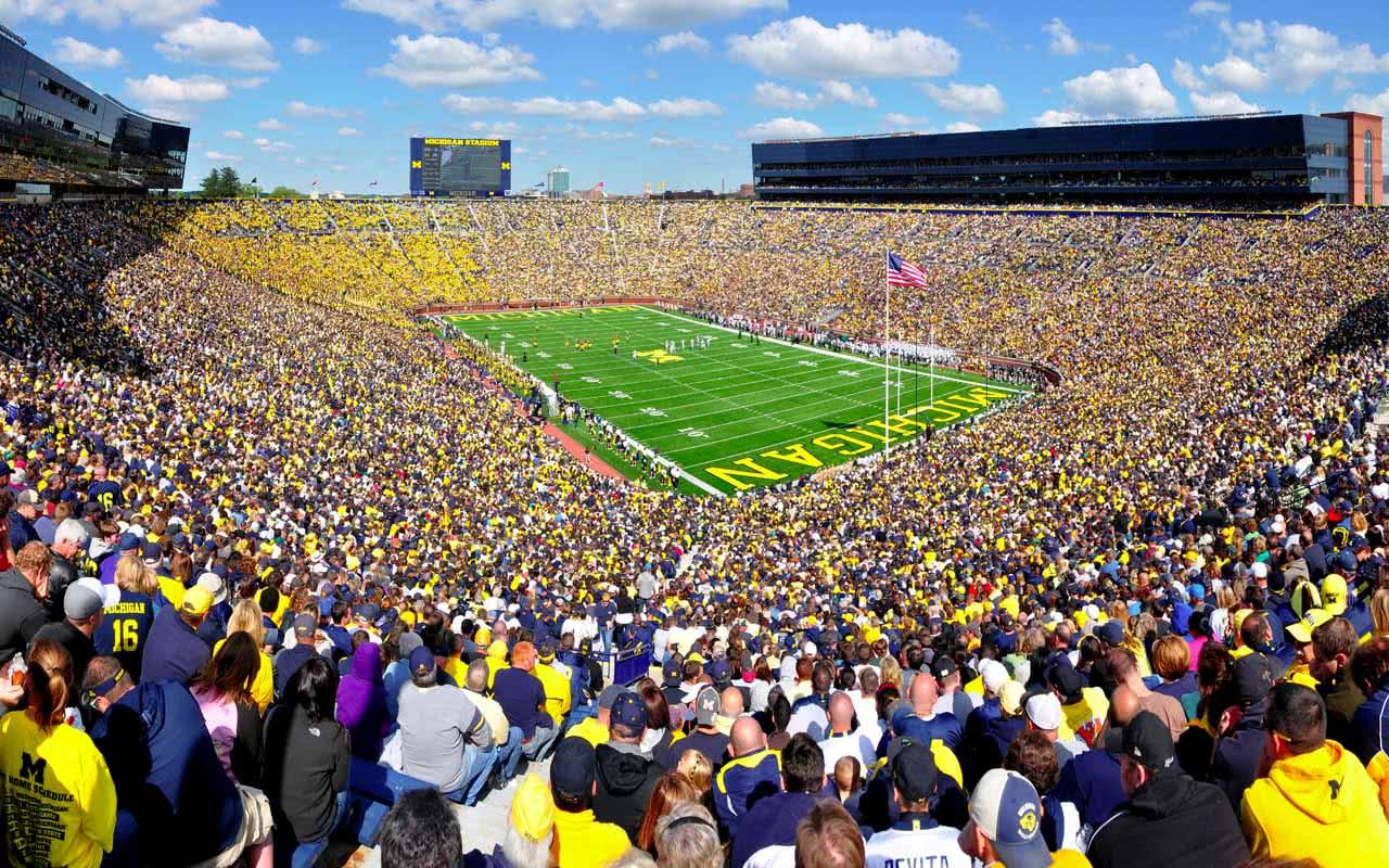 2e - Michigan Stadium - Michigan (USA)