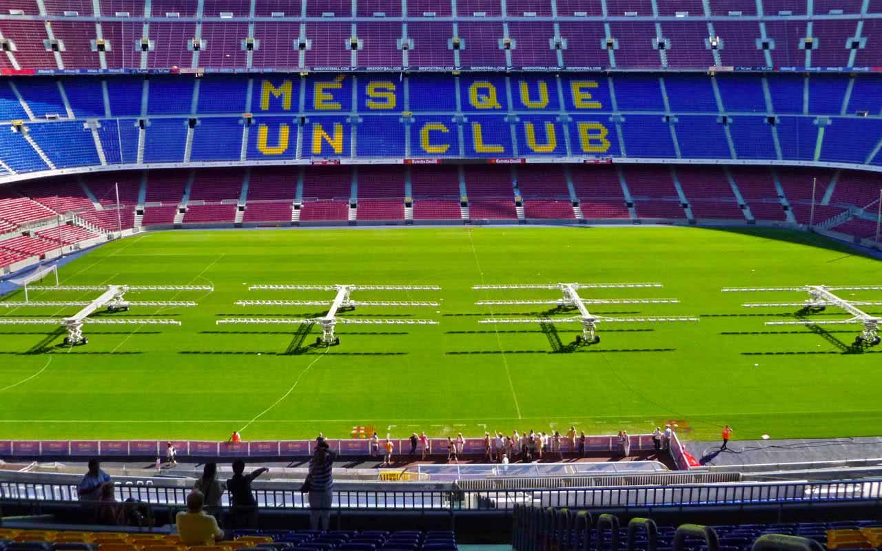 4e - Camp Nou - Barcelone (Espagne)