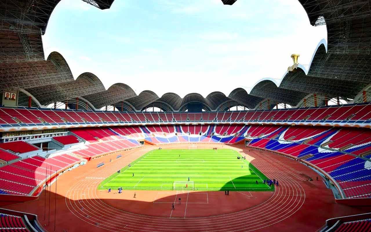 1er mai Stade Rungrado - Pyongyang (Corée du Nord)
