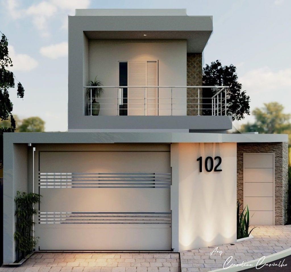 façade-maison-simple-avec-balcon