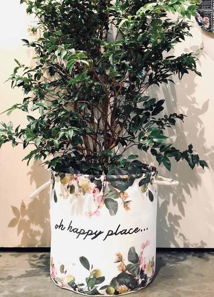Rendez l'endroit plus heureux avec un beau cache-pot