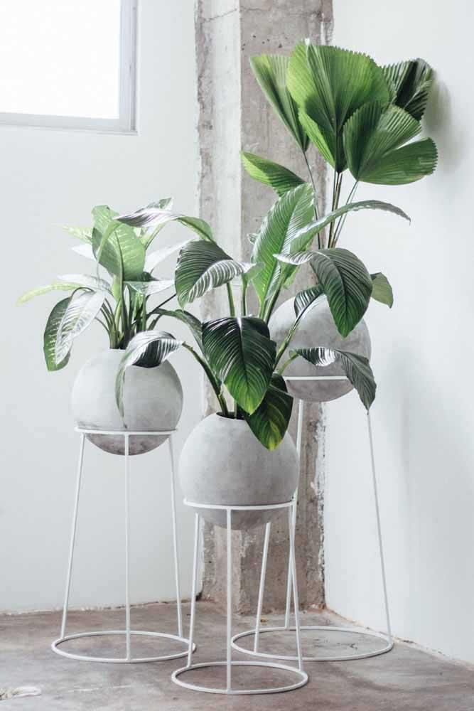 Les constructions boa étaient belles dans ces vases recyclés avec peinture dégradée