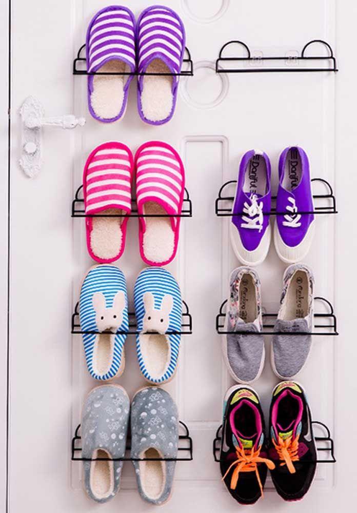 Un fil pour chaque chaussure, vous montez le porte-chaussures en fonction de vos besoins