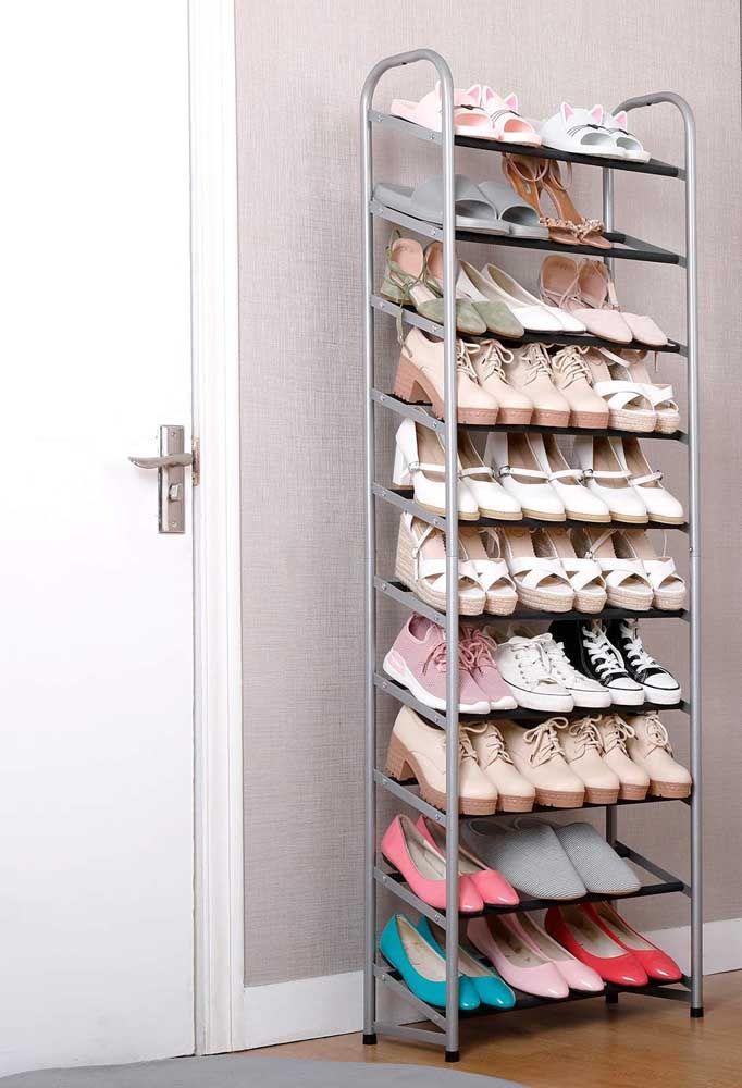 Dites-nous combien de chaussures vous avez et nous vous montrerons la taille de porte-chaussures parfaite