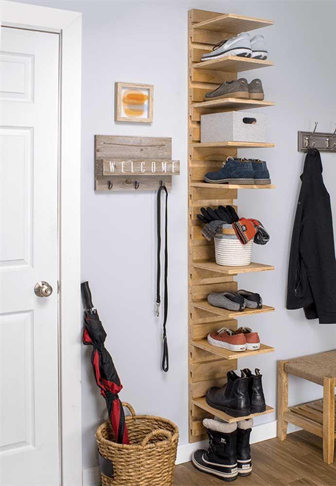 Modèle de support à chaussures simple et facile pour vous-même