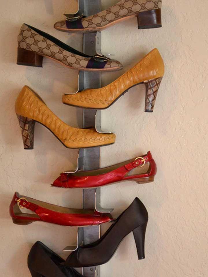 Modèle spécial de porte-chaussures pour chaussures à bouts pointus
