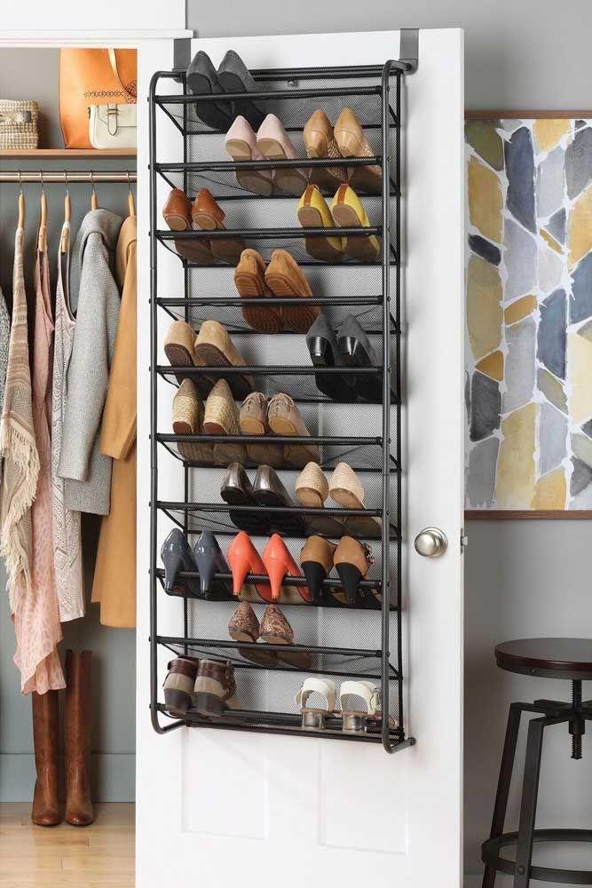 Maintenez toujours l'organisation de votre étagère à chaussures de porte, vous garantissez ainsi de trouver facilement ce que vous voulez