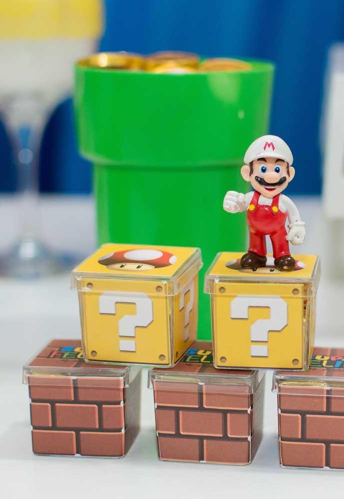 Tous les articles de fête doivent suivre le thème de Mario Bros.