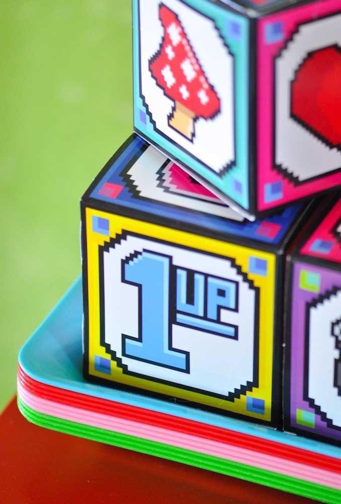 Les éléments du jeu doivent être présents dans chaque détail de la fête.