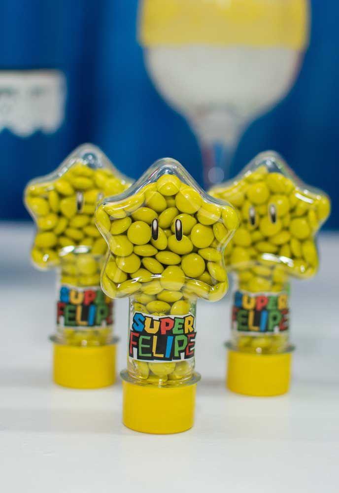 Que diriez-vous d'acheter la boîte à bonbons en forme d'étoile?