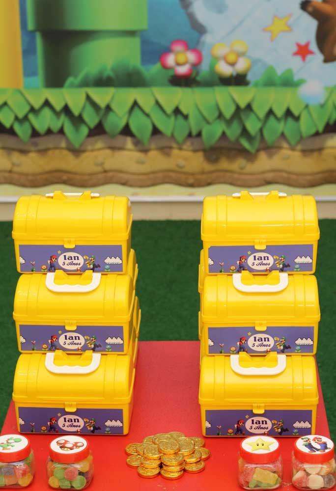 Les souvenirs peuvent être placés dans les sacs à outils de Mario Bros.