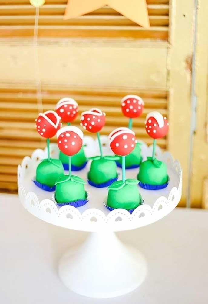 Transformez les bonbons en éléments du jeu Mario Bros.