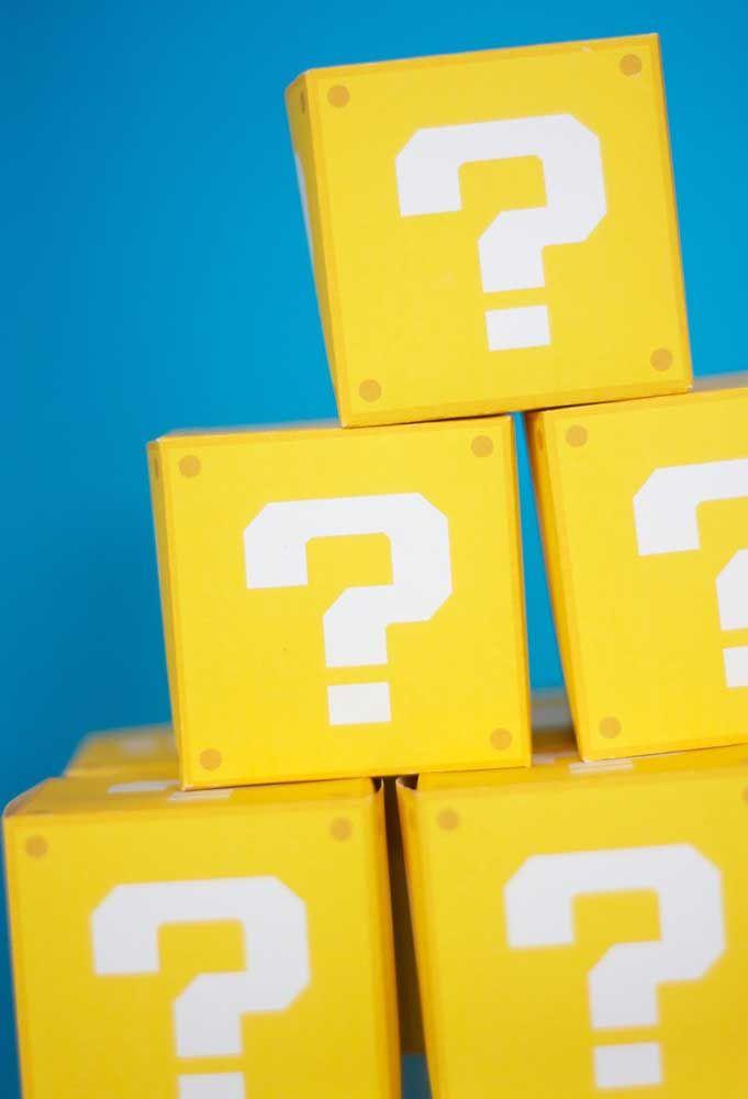 Assemblez plusieurs boîtes comme s'il s'agissait du jeu de Mario Bros.