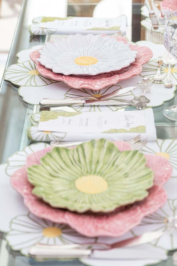 Set de table avec design de vaisselle