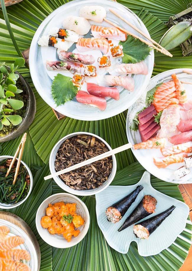 Set de table pour sushi