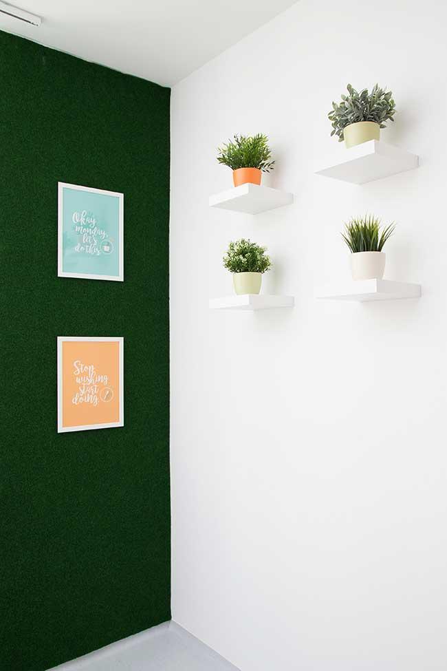 Mur vert olive